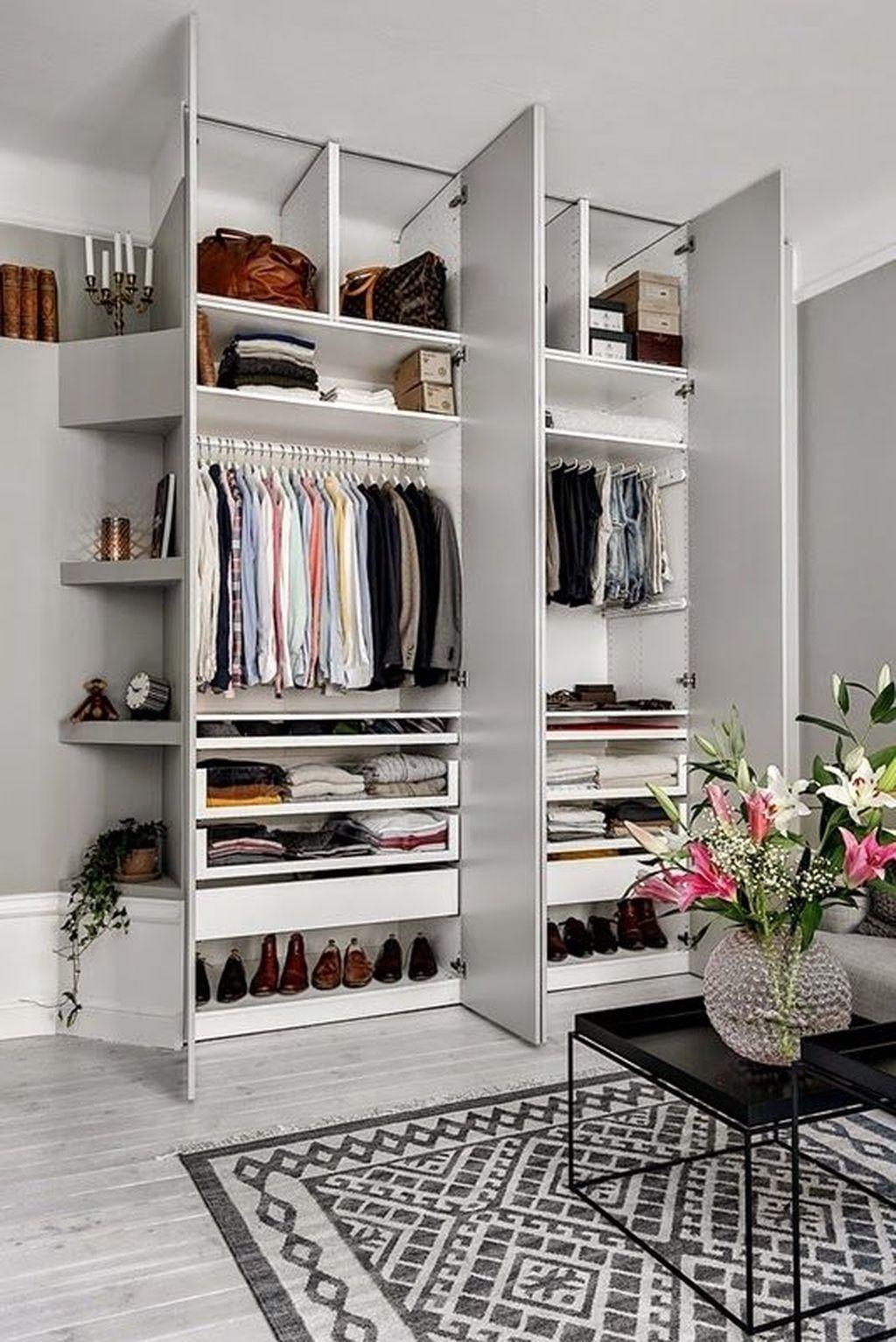 Rustic Wardrobe Design Ideas That Is In Trend 02