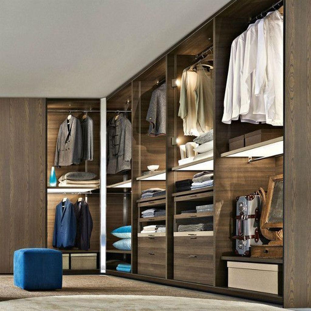 Rustic Wardrobe Design Ideas That Is In Trend 42