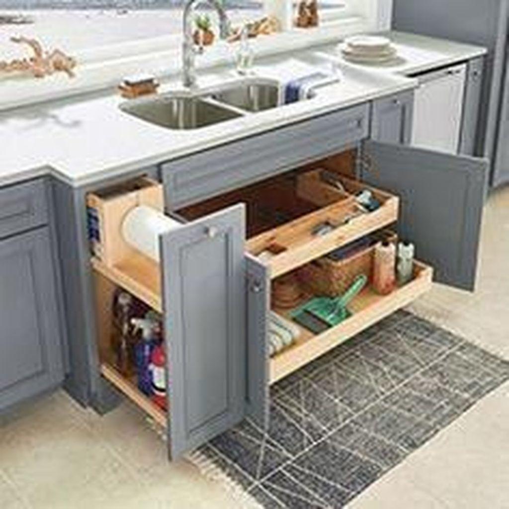 Amazing Organized Farmhouse Kitchen Decor Ideas 21