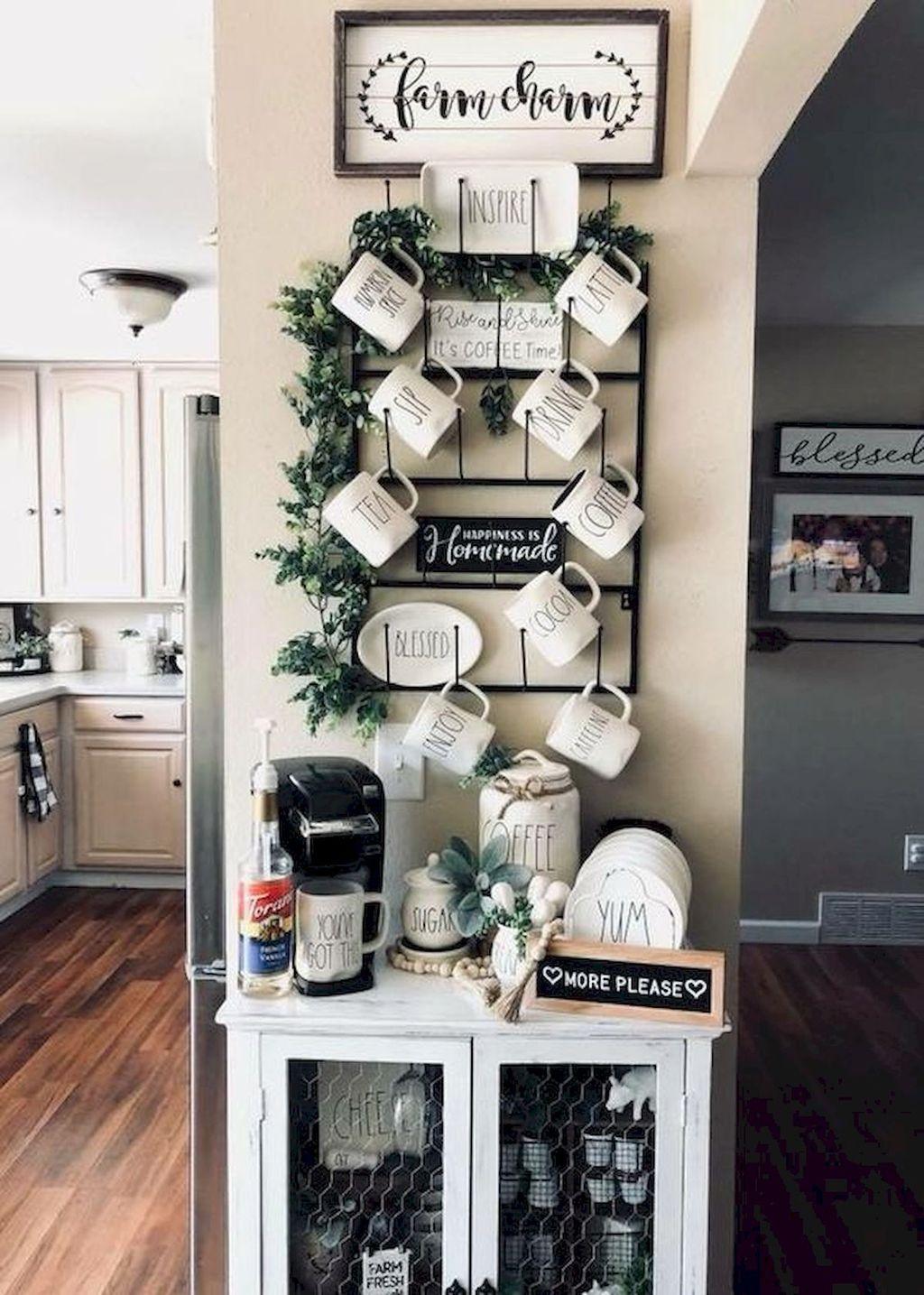 Amazing Organized Farmhouse Kitchen Decor Ideas 22