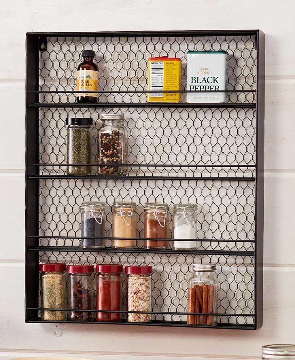 Amazing Organized Farmhouse Kitchen Decor Ideas 24