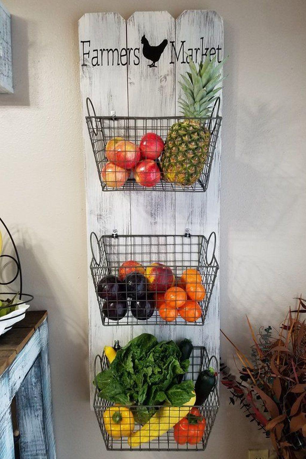 Amazing Organized Farmhouse Kitchen Decor Ideas 37