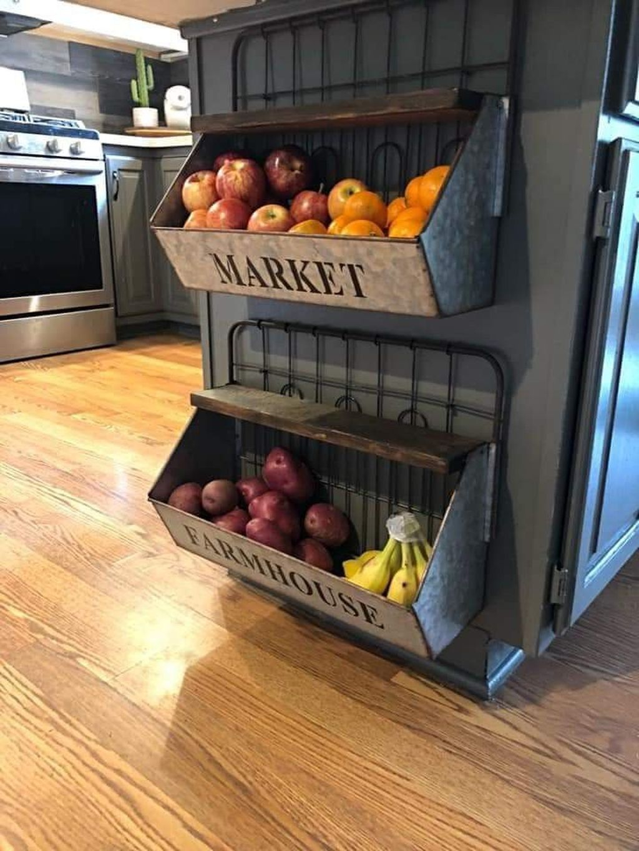 Amazing Organized Farmhouse Kitchen Decor Ideas 46