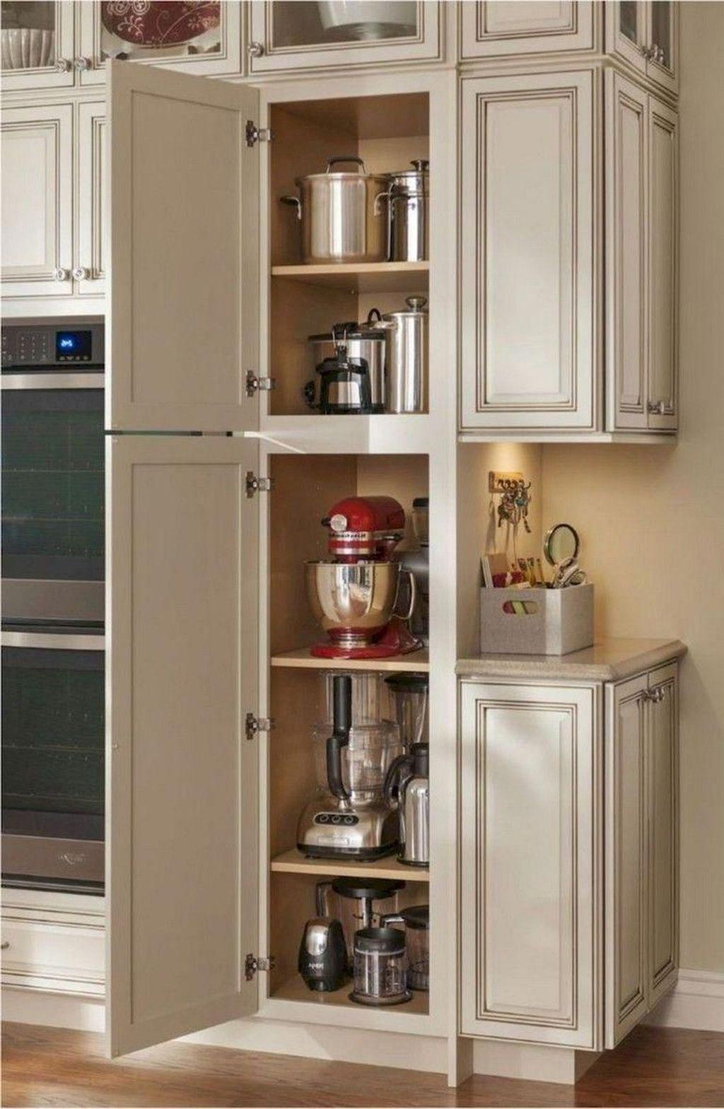 Amazing Organized Farmhouse Kitchen Decor Ideas 47