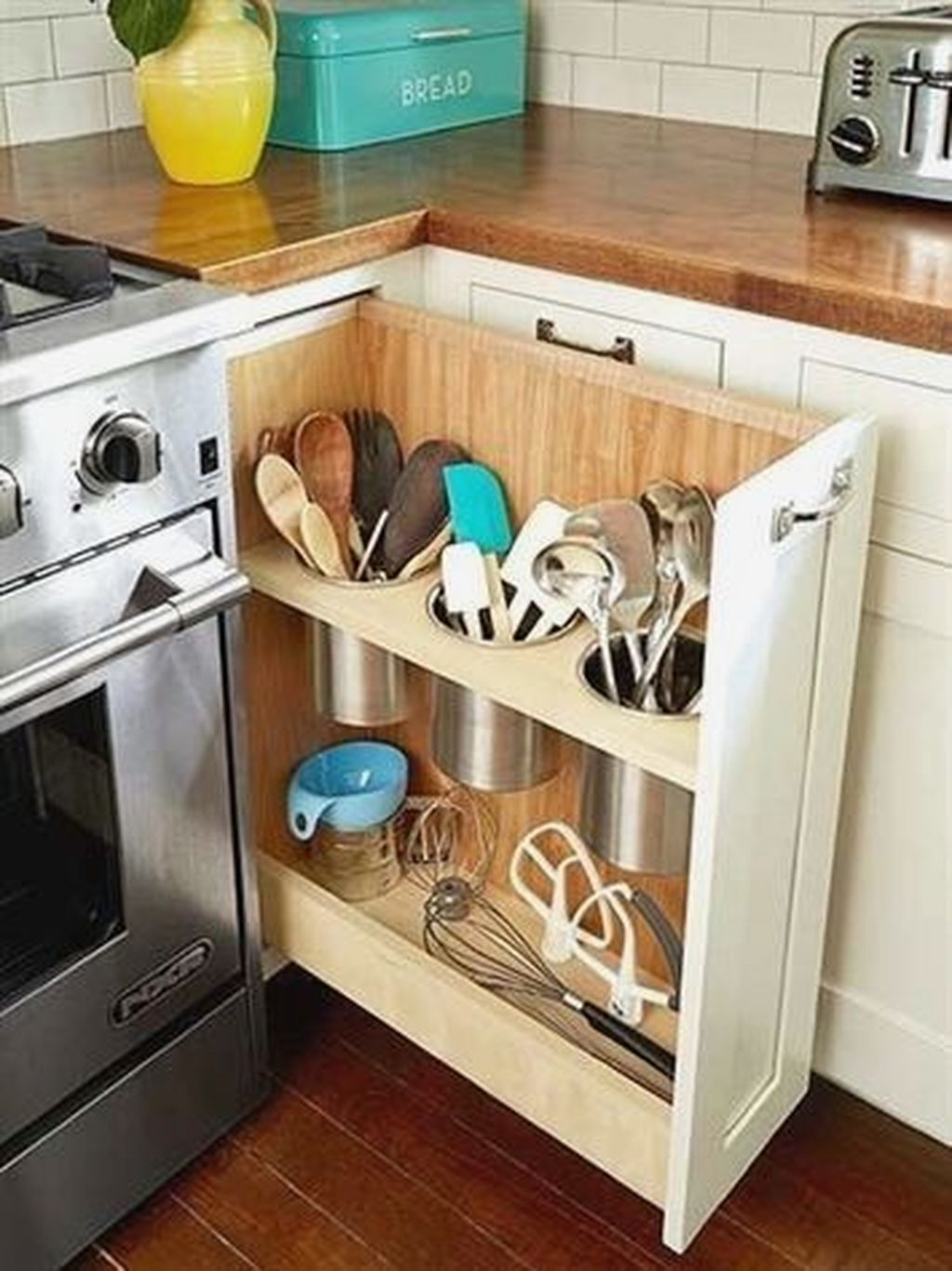 Amazing Organized Farmhouse Kitchen Decor Ideas 52