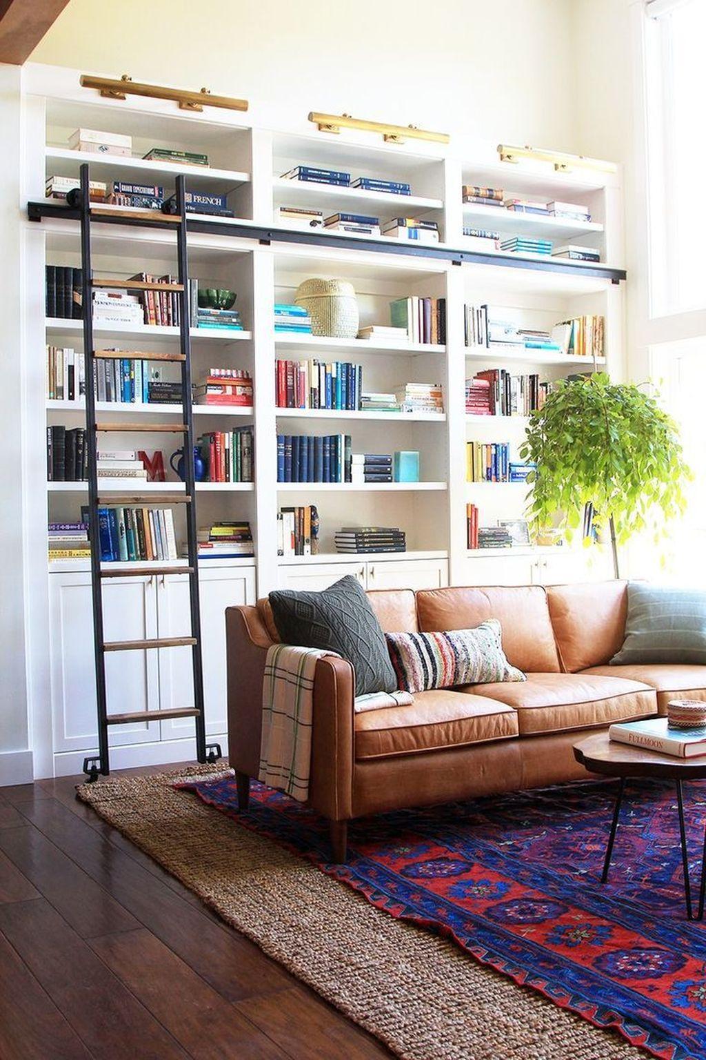 Elegant Bookshelves Decor Ideas That Trending Today 02