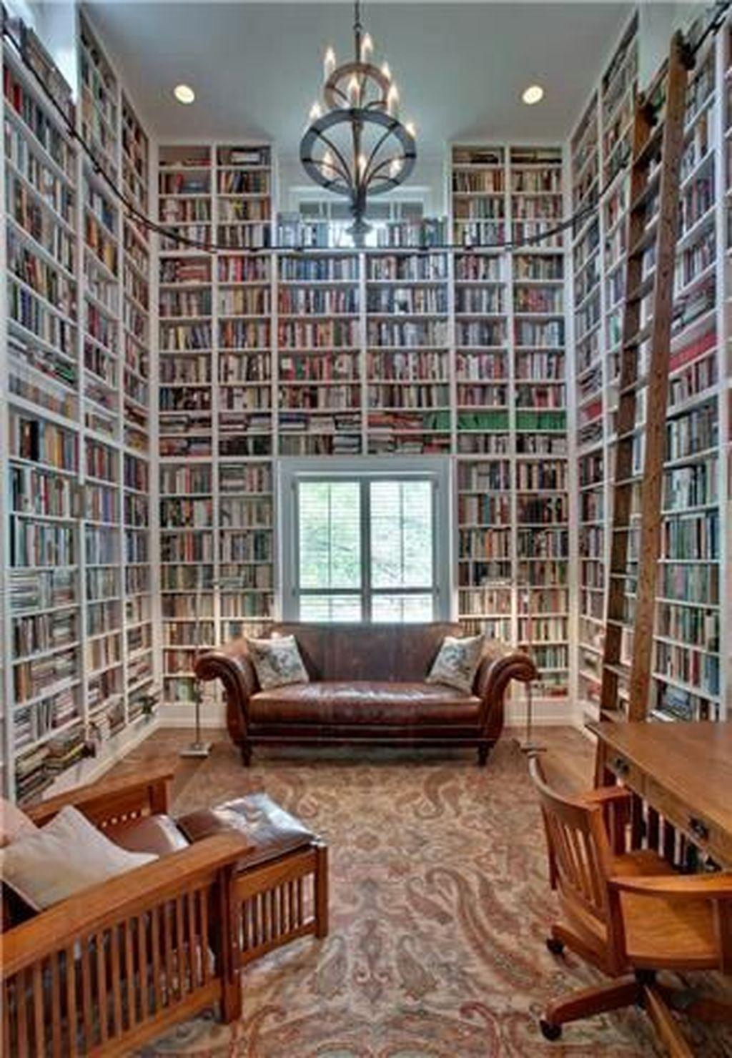 Elegant Bookshelves Decor Ideas That Trending Today 09