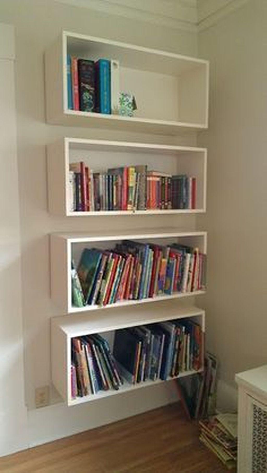 Elegant Bookshelves Decor Ideas That Trending Today 25
