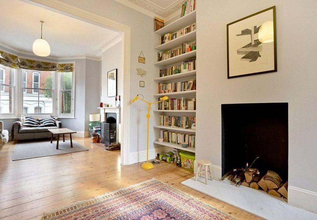 Elegant Bookshelves Decor Ideas That Trending Today 35