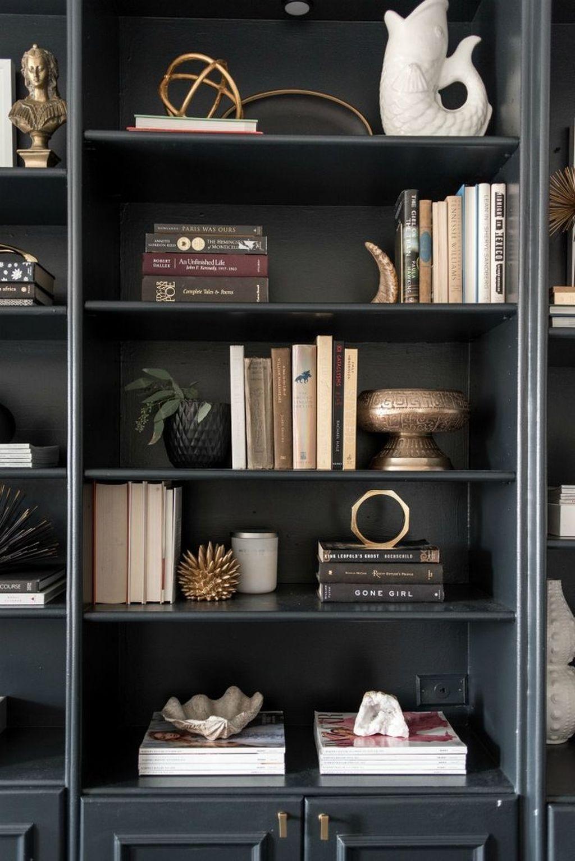 Elegant Bookshelves Decor Ideas That Trending Today 36