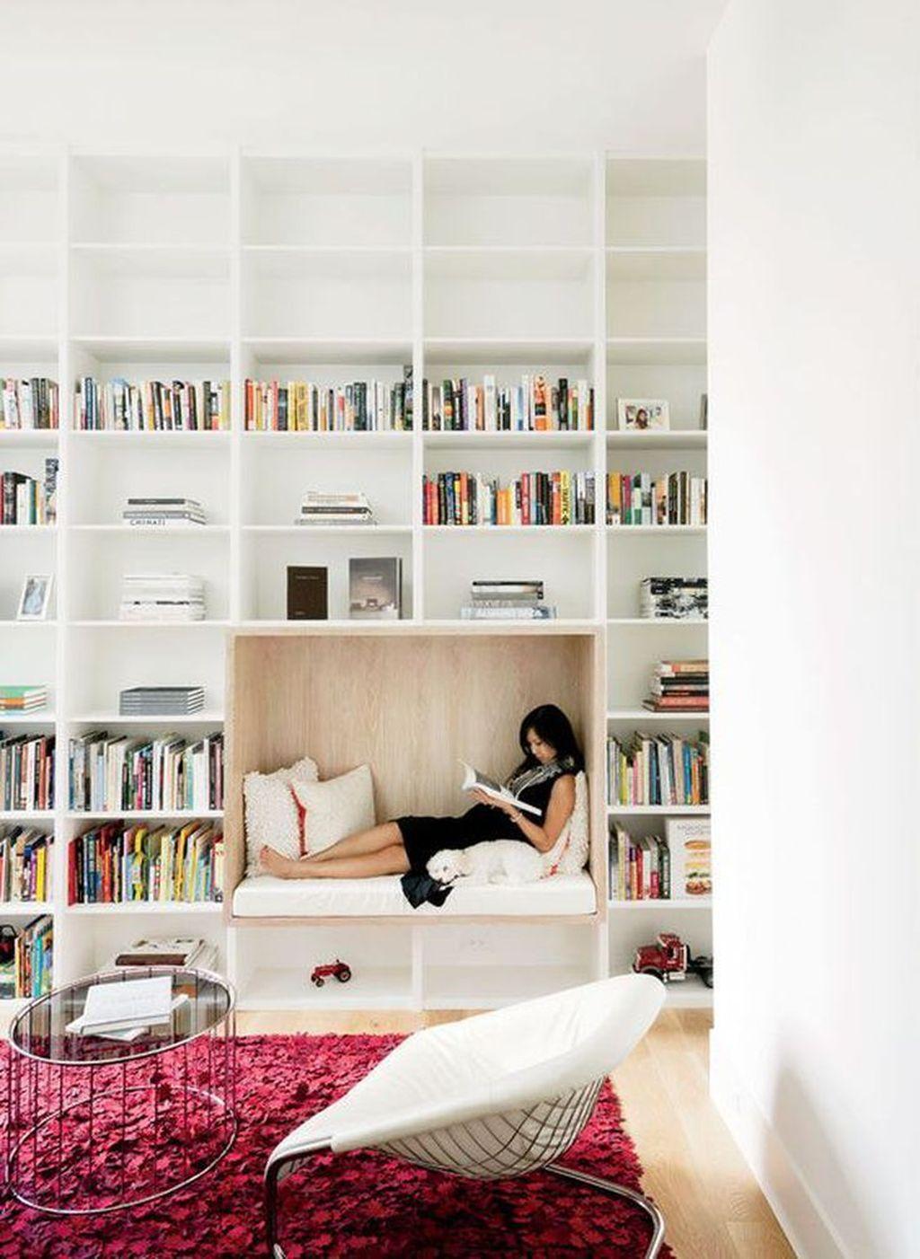 Elegant Bookshelves Decor Ideas That Trending Today 49