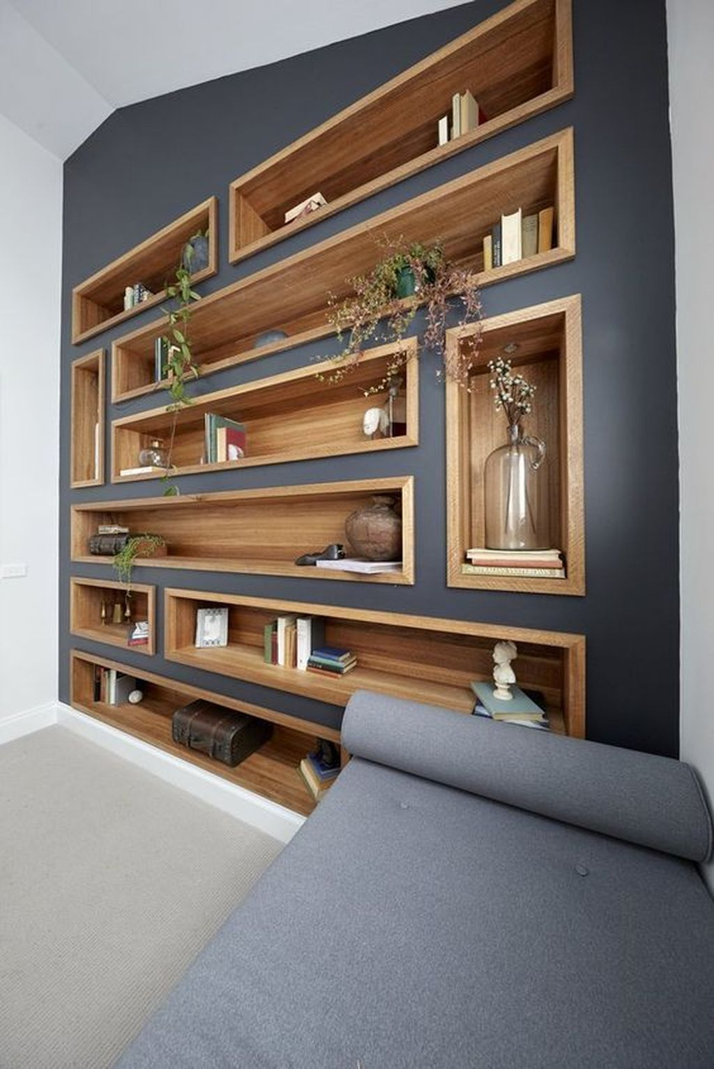 Elegant Bookshelves Decor Ideas That Trending Today 52