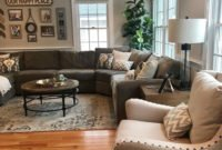 Rustic Living Room Decor Ideas For 2019 34