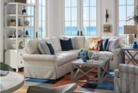 Splendid Coastal Living Area Ideas For Home Look Fabulous 47