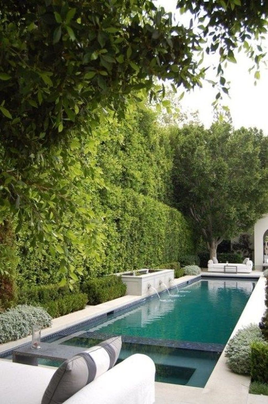 Awesome Backyard Patio Ideas With Beautiful Pool 04