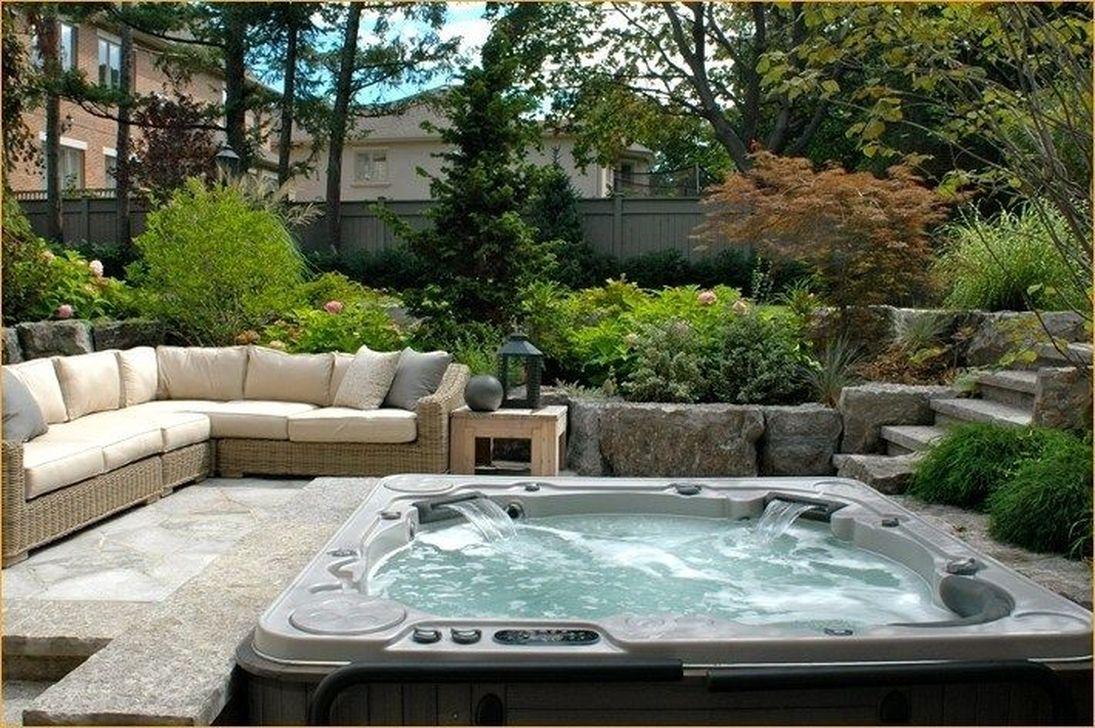 Awesome Backyard Patio Ideas With Beautiful Pool 25