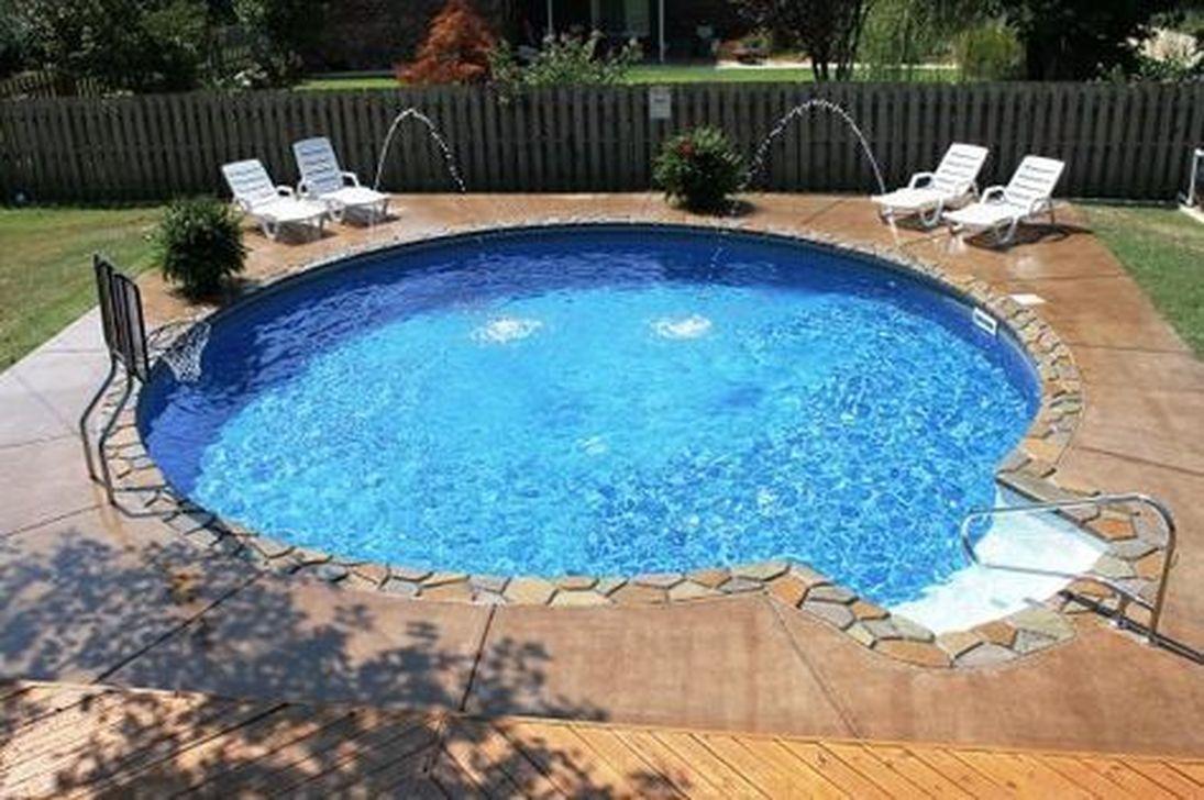 Awesome Backyard Patio Ideas With Beautiful Pool 26