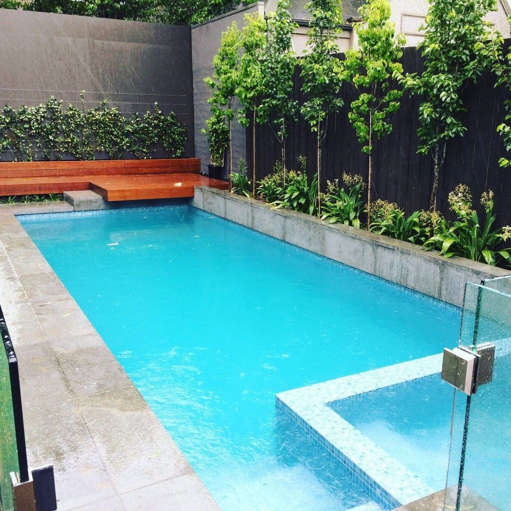 Awesome Backyard Patio Ideas With Beautiful Pool 32