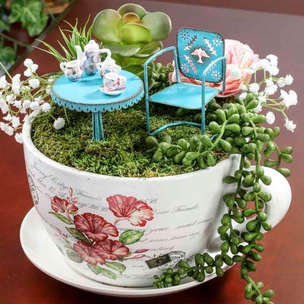 Stunning Diy Fairy Garden Design Ideas To Try This Year 02