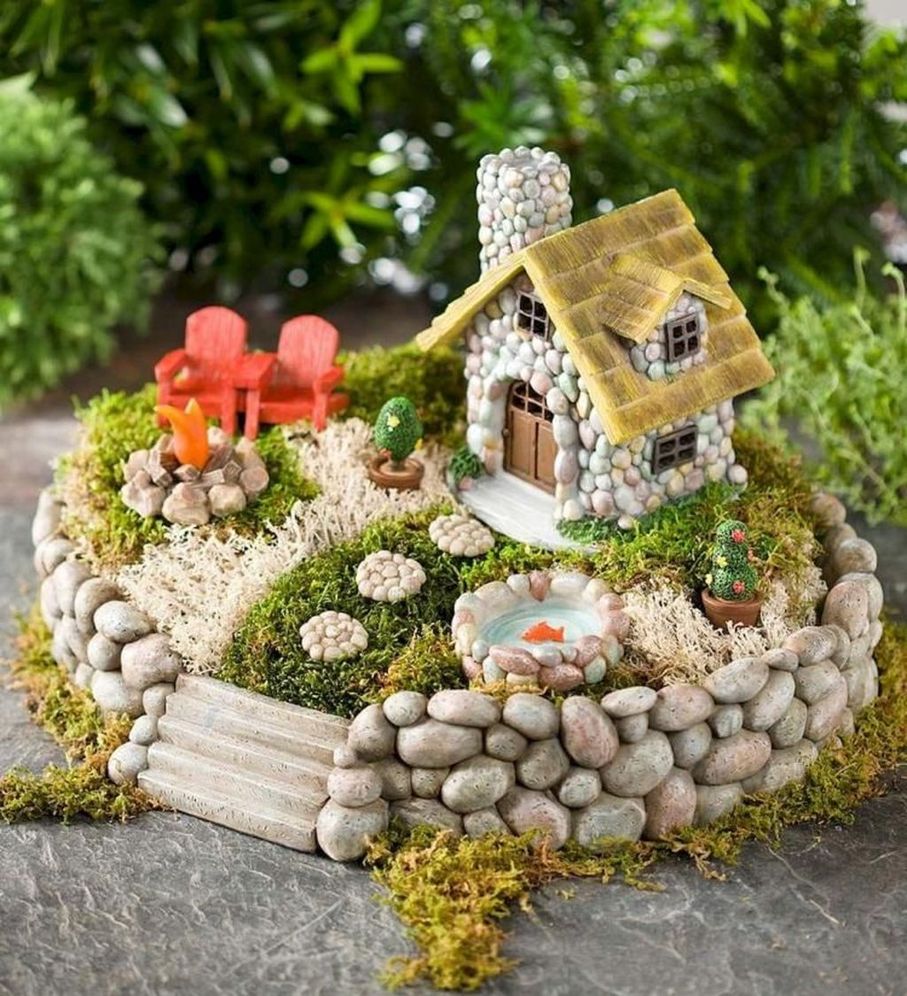 Stunning Diy Fairy Garden Design Ideas To Try This Year 03