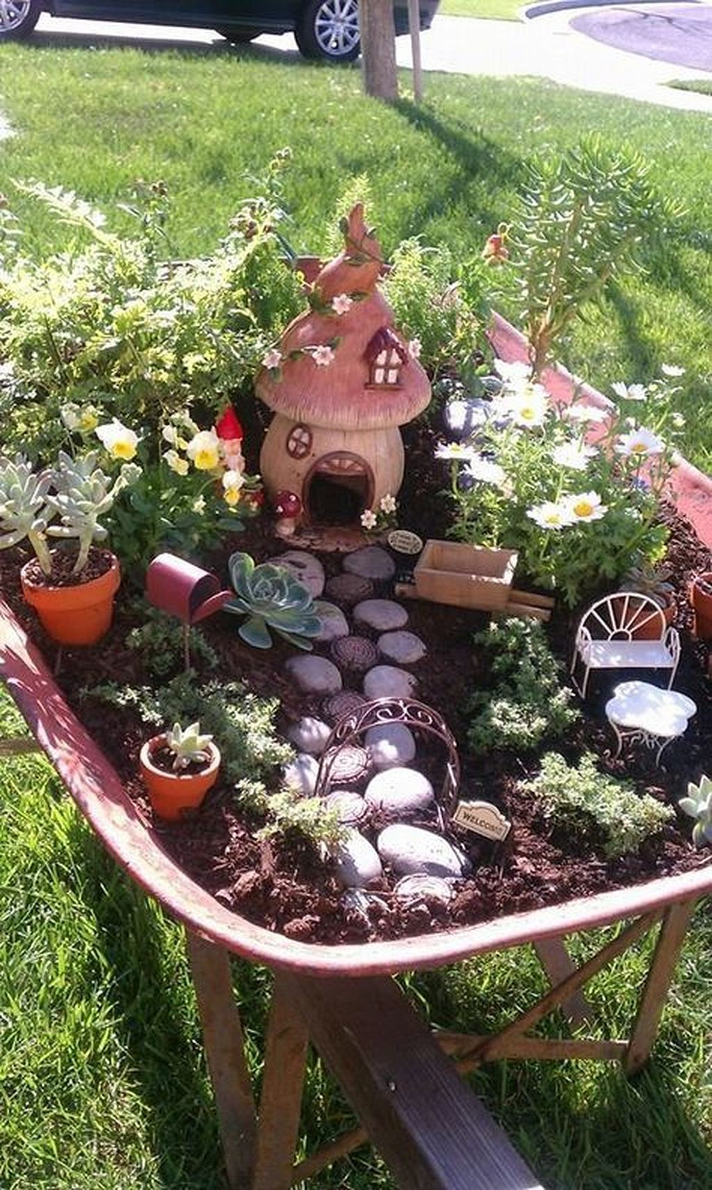 Stunning Diy Fairy Garden Design Ideas To Try This Year 21