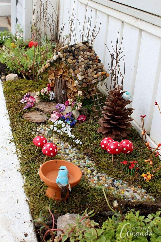 Stunning Diy Fairy Garden Design Ideas To Try This Year 25
