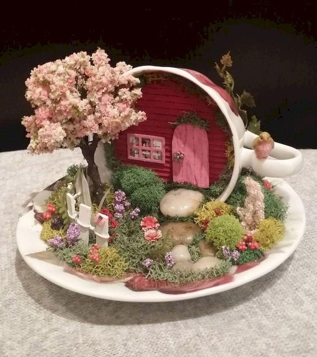 Stunning Diy Fairy Garden Design Ideas To Try This Year 26