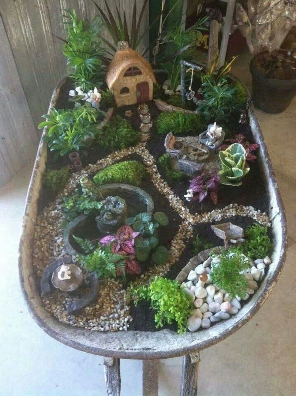 Stunning Diy Fairy Garden Design Ideas To Try This Year 28