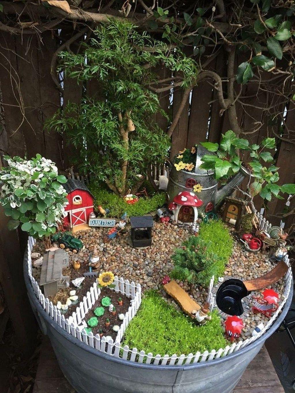 Stunning Diy Fairy Garden Design Ideas To Try This Year 30