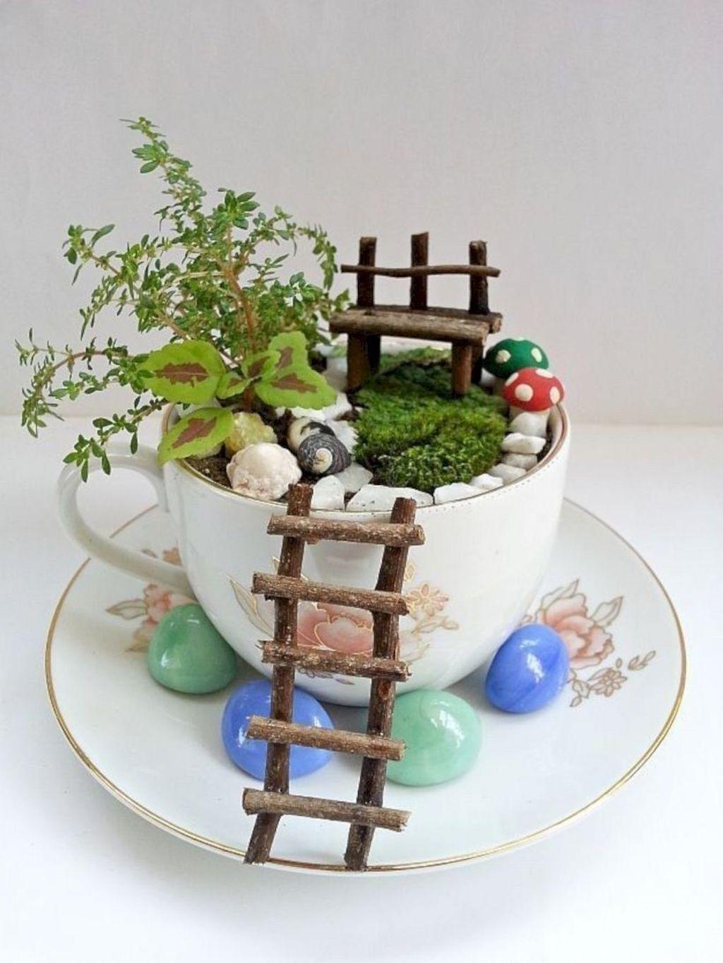 Stunning Diy Fairy Garden Design Ideas To Try This Year 33