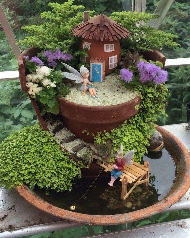 Stunning Diy Fairy Garden Design Ideas To Try This Year 36