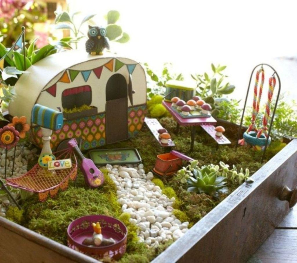 Stunning Diy Fairy Garden Design Ideas To Try This Year 47