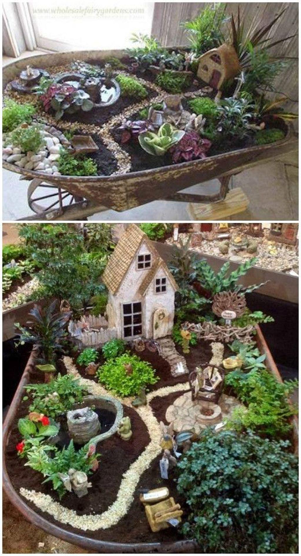 Stunning Diy Fairy Garden Design Ideas To Try This Year 49