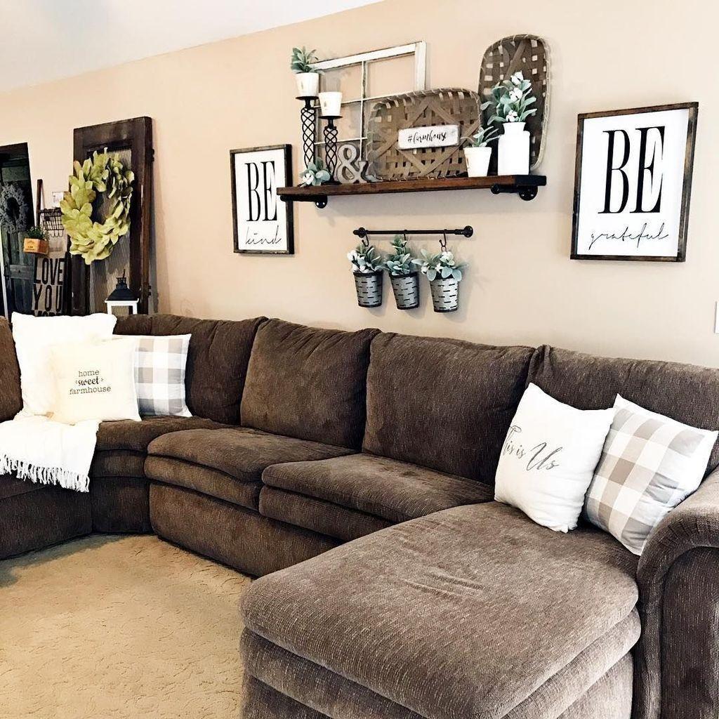 Splendid Farmhouse Living Room Decor Ideas 30